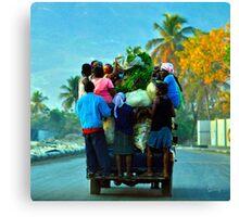 Ann'Ale - Haiti Canvas Print