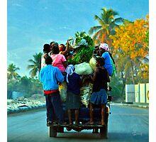 Ann'Ale - Haiti Photographic Print