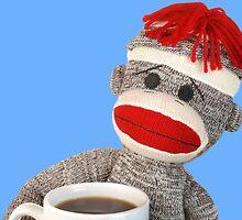 Coffee Monkey by Jim  Hughes