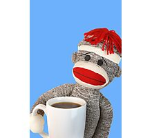 Coffee Monkey Photographic Print