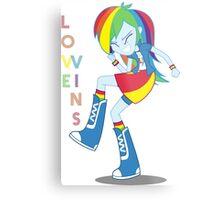 Love Wins Ponny Youth Metal Print