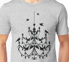 Bird Chandelier Unisex T-Shirt