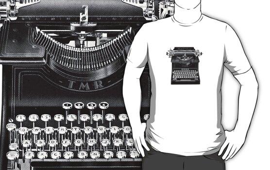 The Madison Review Typewriter by jackshoegazer