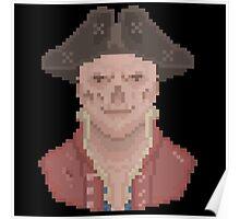 Pixel John Hancock Poster