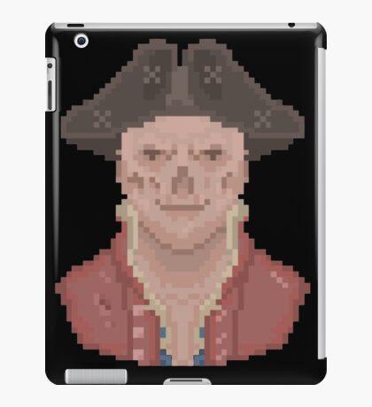 Pixel John Hancock iPad Case/Skin