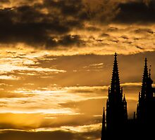 Praha: The Silhouette by Jacinthe Brault