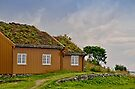Turf Covered Roof Building on Haholmen Island by Gerda Grice