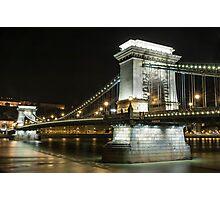 Budapest at Night Photographic Print