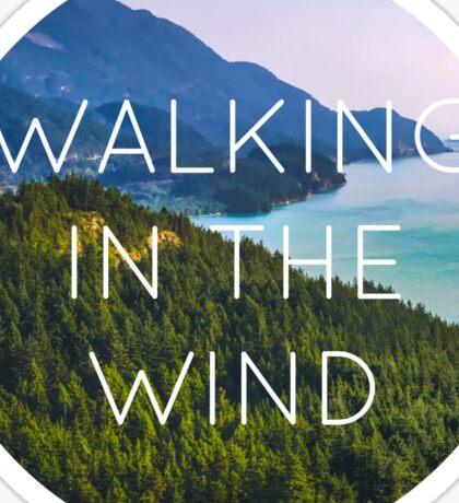Walking in the Wind // One Direction Sticker