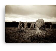 The Merry Maidens, Cornwall Canvas Print
