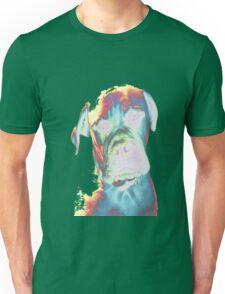 Psychedelic Dog Print Unisex T-Shirt