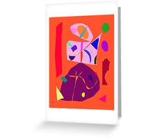 Up in the Sky Freezing Concert Brazil Sun Greeting Card