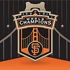 San Francisco Giants Wallpaper by Sarah Slapper