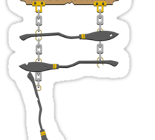 The Three Broomsticks Sticker