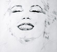 Marilyn, Giggles by NWillsonStrader