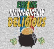 Kiss Me I'm Irish Baby Tee