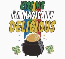 Kiss Me I'm Irish One Piece - Short Sleeve