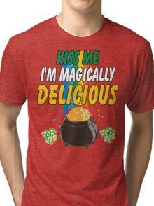 Kiss Me I'm Irish Tri-blend T-Shirt