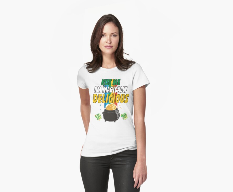 Kiss Me I'm Irish by HolidayT-Shirts