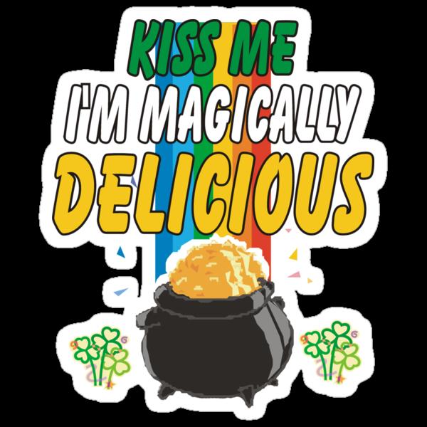 Kiss Me I'm Irish by HolidayT-Shirts