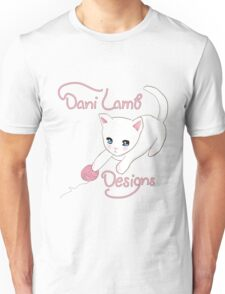 Yarn Kitty DaniLambDesigns  Unisex T-Shirt