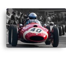 Red to Win Canvas Print
