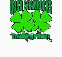 Irish Shamrocks Womens Fitted T-Shirt