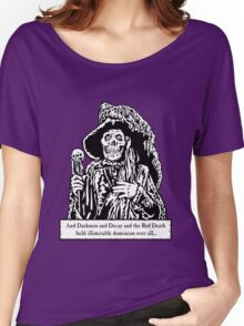 The Red Death (Full Print)  Women's Relaxed Fit T-Shirt