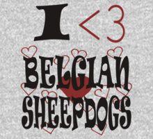I <3 Belgian Sheepdogs by veganese
