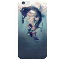 Spirited away Haku and Chihuro iPhone Case/Skin