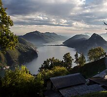 Monte Bre, Lugano, Switzerland by Matthew Scerri