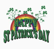 Happy St. Patrick's Day by HolidayT-Shirts