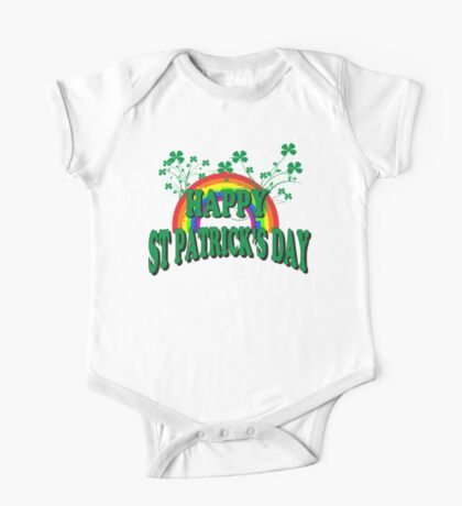 Happy St. Patrick's Day One Piece - Short Sleeve