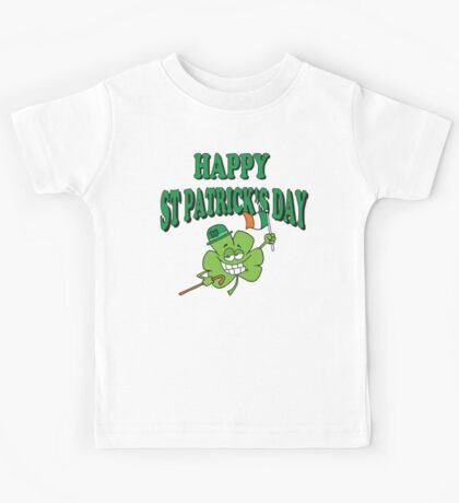 Happy Saint Patrick's Day Kids Tee