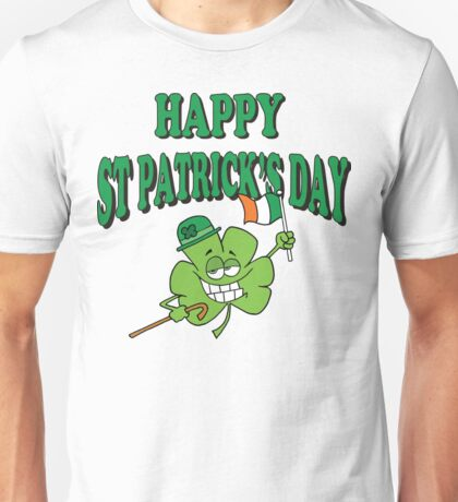 Happy Saint Patrick's Day Unisex T-Shirt