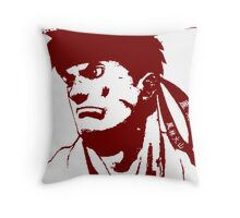 Ryu 隆 - The Spiritual Warrior Throw Pillow