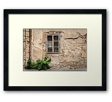 Praha: The Old Wall Framed Print