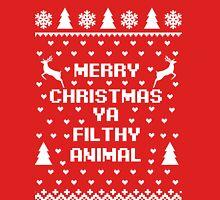Merry Christmas Filthy Animal, Home Alone, Christmas Shirt T-Shirt