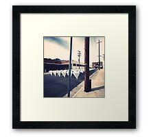 62 Framed Print