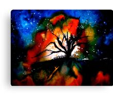 The Poem and The Song.. Canvas Print