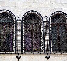 Window Dressing At Pula Croatia by lynn carter