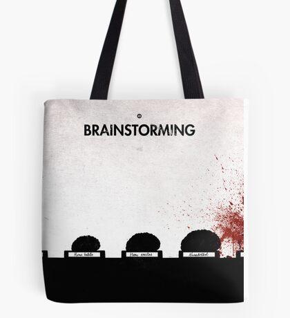 99 Steps of Progress - Brainstorming Tote Bag