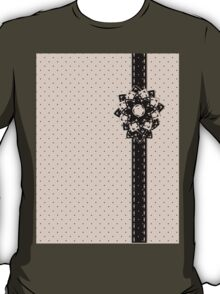Polka Dots and Flowers T-Shirt