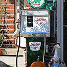 Vintage Sinclair Gas Pump by kkphoto1