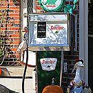 Vintage Sinclair Gas Pump by kkphoto1