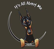 Doberman Pinscher :: Its All About Me by offleashart