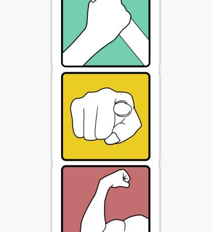 festivus illustrated Sticker