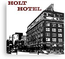 Holt Hotel/Kemp & Kell Building Vector Art Metal Print