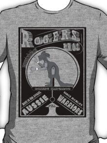 aussie warriors kangaroo by rogers bros T-Shirt