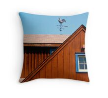 The Rooftop Throw Pillow